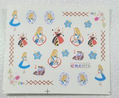Water Slide Decal (BLE2073) Alice in Wonderland
