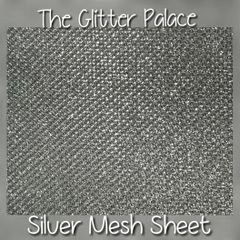 Metallic Silver Mesh Sheet For Encapsulation