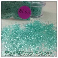 BL53 Pearl Blue (.040) Solvent Resistant Glitter