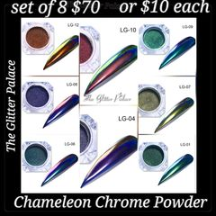8 Chameleon Chrome Powders