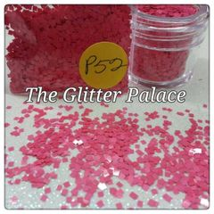 P52 Sophia Pink Square Solvent Resistant Glitter