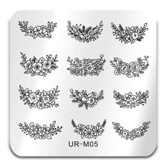 Stamping Plate - (UR-M05) French #1