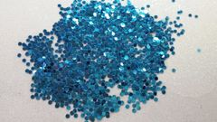 IN32 Metallic Blue .78 Dots, Glitter Insert (1.5 gr baggie)