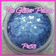 PU53 Light Purple (Squares) Solvent Resistant Glitter