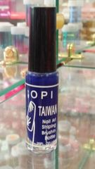 OPI Taiwan Nail Striper Paint - Navy Blue