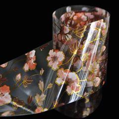 Foil - Pink & Gold Flowers (gl17)