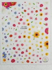 Spring Flower Stickers (CA-165)