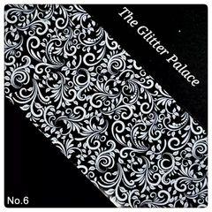 Foil - White Lace #6