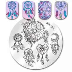 Stamping Plate - (BP194) Dreamcatcher