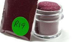 R19 Mallow Maroon (.008) Solvent Resistant Glitter