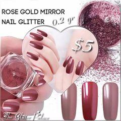 Dark Rose Gold Chrome Powder (0.2 gr)