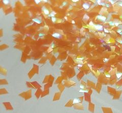 IN202 IR Orange Diamond Glitter Insert (1.5 gr baggie)