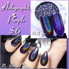 Holographic Purple Chrome Powder (0.5 gr)