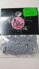 IN233 White & Black Polka Dot Circle Insert (1.5 gr baggie)
