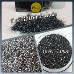 B13 Gray (.008) Solvent Resistant Glitter