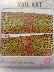 1626 - Cheetah Print Waterslide Decal