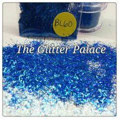BL60 Holo Navy Blue Fiber Solvent Resistant Glitter