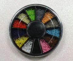 Wheel #13 Tiny Multi Colored Balls