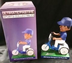 Manny Mota - Ultimate Pastime Exclusive Autographed Bobble Head