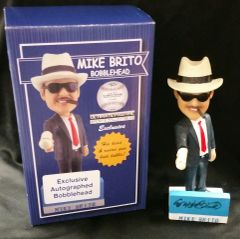 Mike Brito - Ultimate Pastime Exclusive Autographed Bobble Head