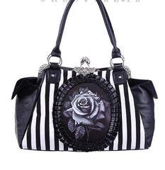 """Cameo Bag """"Black Rose"""""""