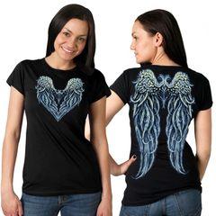 Classic Cut Angel Heart T-shirt
