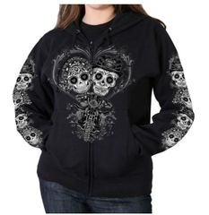 Sugar Skull Couple