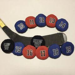 Hockey Sack # 10,11,12,13,14,15,16,17,18,19