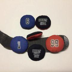 6 Hockey Sacks Special... for...pour... 40$