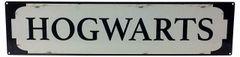 Metal Street Sign HOGWARTS 70cm x17cm