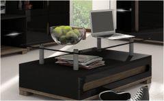 BLOSSOM Black Gloss Coffee Table