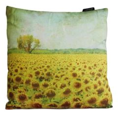 Sunflower Field Cushion