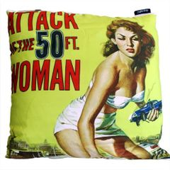 The Attack Cinema Gothic Cushion