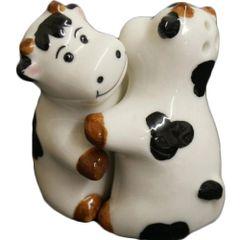 Hugging Cows Cruet Salt & Pepper set