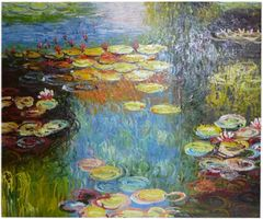 After Monet - 50cm x 60cm Real Art Painting, Oil on Canvas
