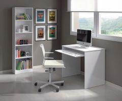 FERN Small Gloss White Computer Desk