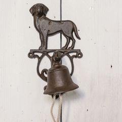 Metal Dog Doorbell 25cm