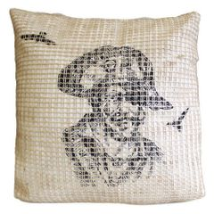 Designer Pirate Blackbeard Cushion