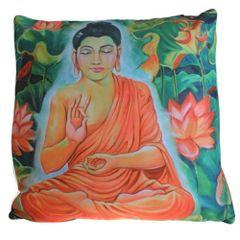 Calm Jungle Buddha Cushion