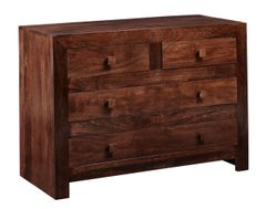 Indian Hub TOKO Mango Dressing Chest 4 Drawers