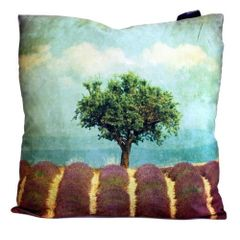 Lavender Field Cushion