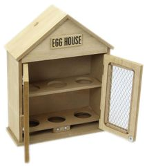 Wooden Two Door Egg House