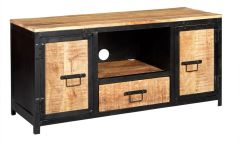 Indian Hub COSMO Industrial Style Plasma Tv Cabinet