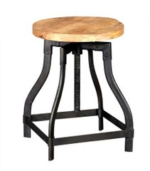 Indian Hub COSMO Industrial Style Stool Side Table