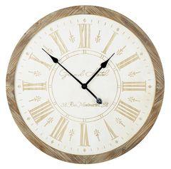 Wooden Wall Clock 65cm
