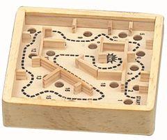 Wooden Medium Sized Marble Maze Puzzle
