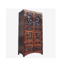 Wedding Cabinet with Carved wooden panels and Semi-Precious stone decor