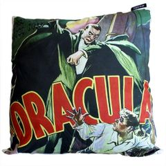 The Dracula Cinema Gothic Cushion