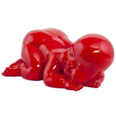 KOKOON Cysgu statue Red