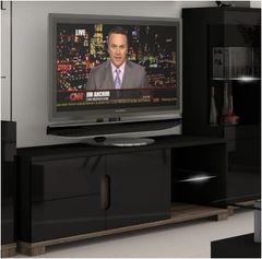 BLOSSOM Black Gloss TV Unit